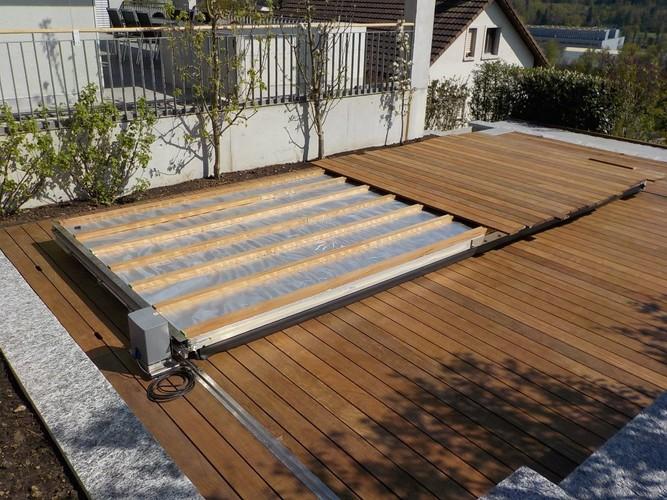 holzdeck selber bauen holzterrasse selber bauen seite 1 terrasse balkon poolumrandung holz. Black Bedroom Furniture Sets. Home Design Ideas